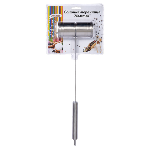 Солонка-перечница «Молоток» 36 см, d 4,5 см