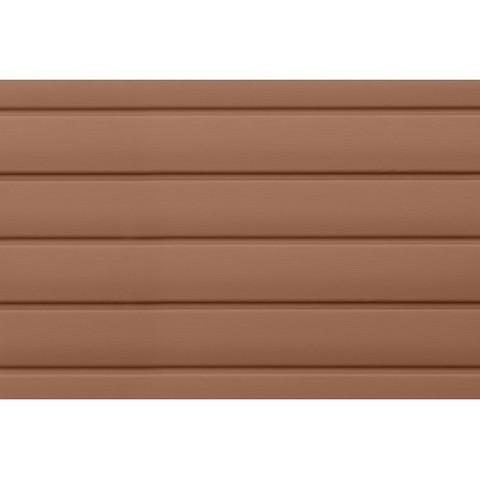 Сайдинг Виниловый Grand Line Блок-Хаус Темно-бежевый Premium