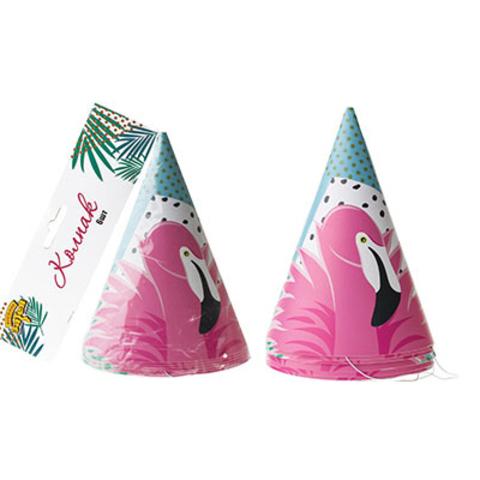 Колпак Фламинго 6шт/G