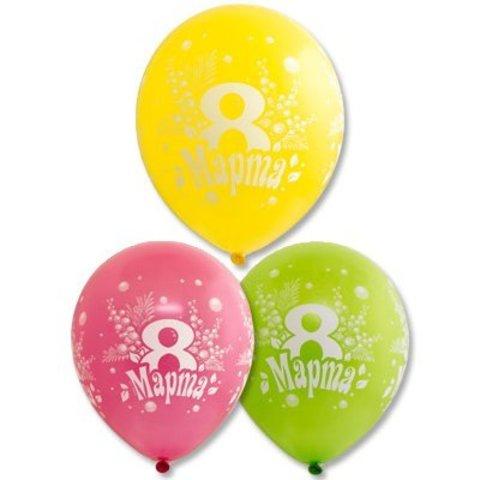 Воздушные шары 8 марта
