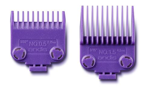 Набор насадок Andis на магнитах к машинке MLC (2,25, 4,5 мм)