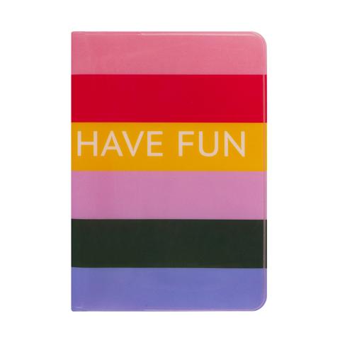 Обложка для паспорта Shine Stripes