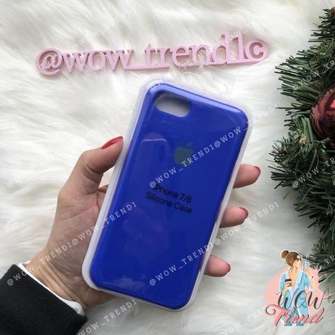 Чехол iPhone SE Silicone Case /ultramarine/