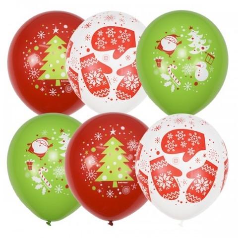 Воздушные шары Новогоднее настроение