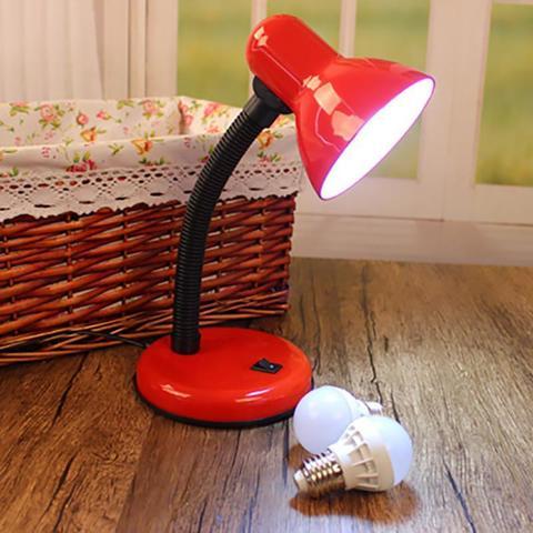 Настольная Лампа Гибкая Рабочая Настольная Лампа