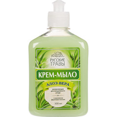Крем-мыло Русские травы Алоэ вера 300 мл