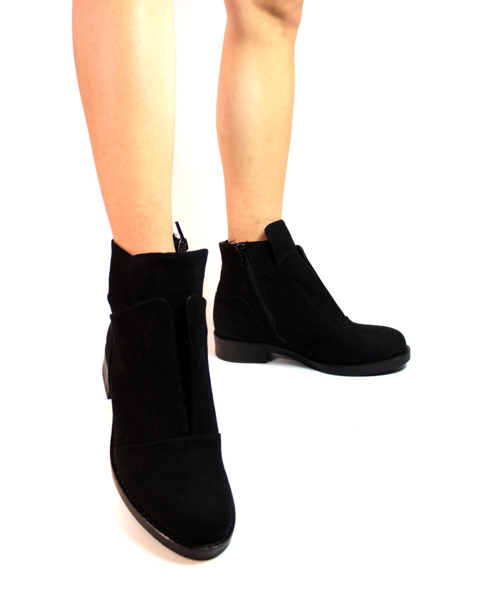 замшевые ботинки Mario Muzi