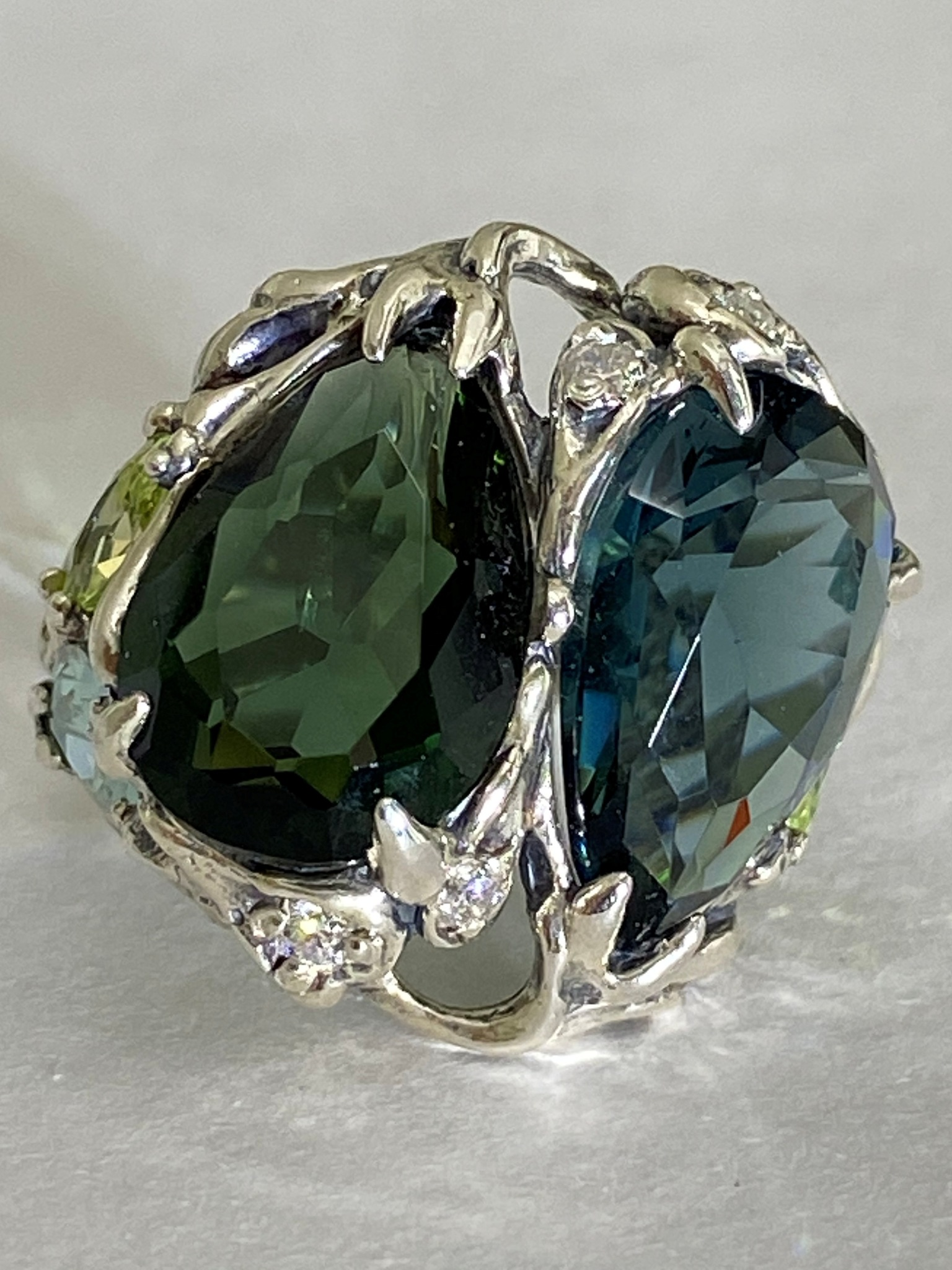 Медея (кольцо  из серебра)