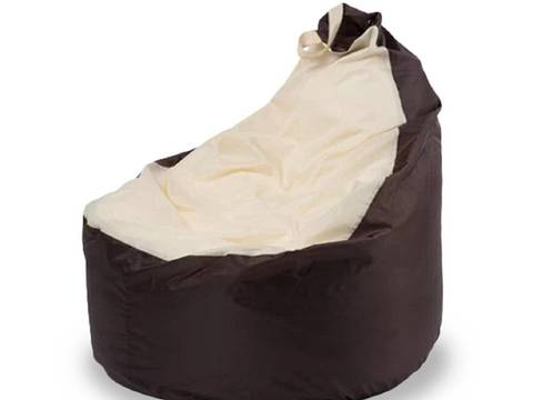 Кресло-мешок «Комфорт» Коричнево-бежевый