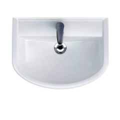 Шкафчик Integra под раковину Arteco 60, белый / Раковина Cersanit Arteco 60