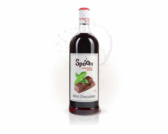 Сироп Spoom Шоколад с мятой, 1 л (Спум)
