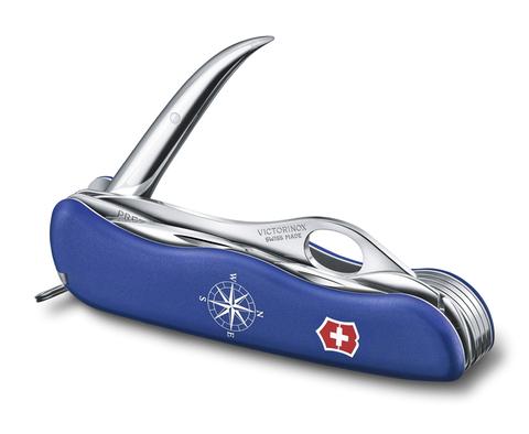 Нож Victorinox Skipper Pro, 111 мм, 12 функций, синий