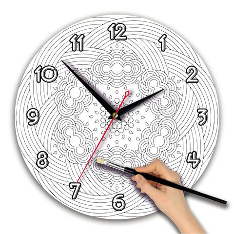 Часы раскраска. Циферблат круг 280 мм