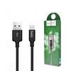 Кабель USB - MicroUSB 1м Hoco X14 - Черный