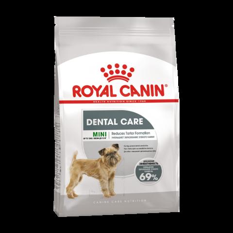 Royal Canin Mini Dental Care Сухой корм для собак мелких пород склонных к образованию зубного камня