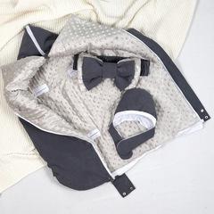 СуперМамкет. Конверт-одеяло всесезонное Мультикокон ®, Denim, мокрый асфальт вид4
