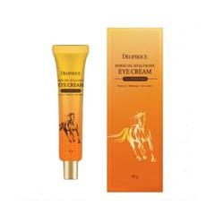 Крем для глаз с гиалуроновой кислотой и лошадиным жиром Deoproce Horse Oil Hyalurone Eye Cream