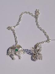 Лягушка с короной ( серебряный ионизатор)