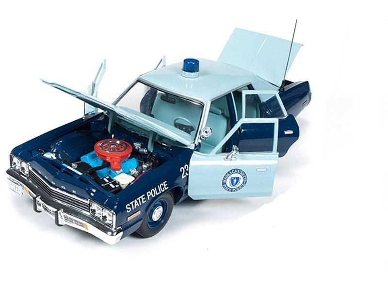 Коллекционная модель Dodge Monaco Pursuit Massachusetts State Police 1974