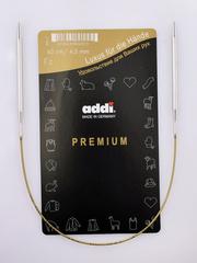 Спицы круговые супергладкие металлические Addi 40 см 4.5 мм