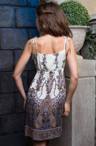 Сорочка  женская из вискозы MIA-MIA  Shakira ШАКИРА 16071 синий