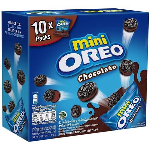 Oreo mini Chocolate Орео мини в коробке шоколадные 230 гр