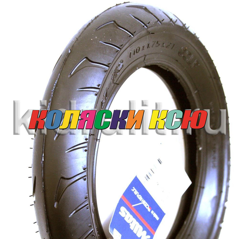 Покрышка 10х1,75х2 (47x152) V63 GOLF (Чехия МITAS / RUBENA) №008110