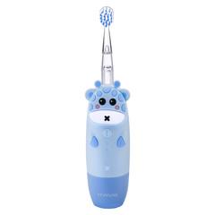 Детская звуковая электрическая зубная щётка Revyline RL 025 Blue голубой (Ревилайн, Ревелайн, для самых маленьких детей)