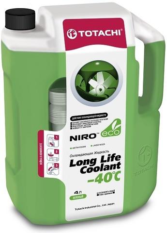 NIRO™ LONG LIFE COOLANT GREEN -40 C TOTACHI Антифриз зеленый (4 Литра)