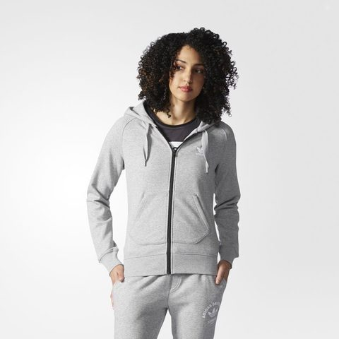 Джемпер женский adidas ORIGINALS FZ HOODIE