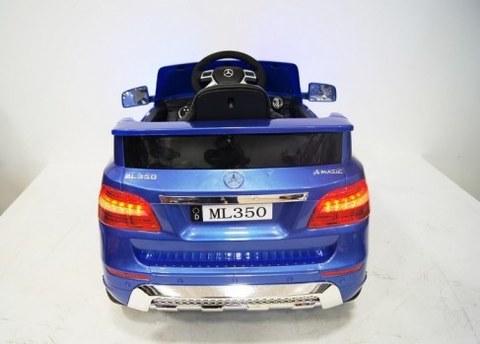 Детский электромобиль Rivertoys MERCEDES-BENZ ML350-BLUE-GLANEC синий глянец
