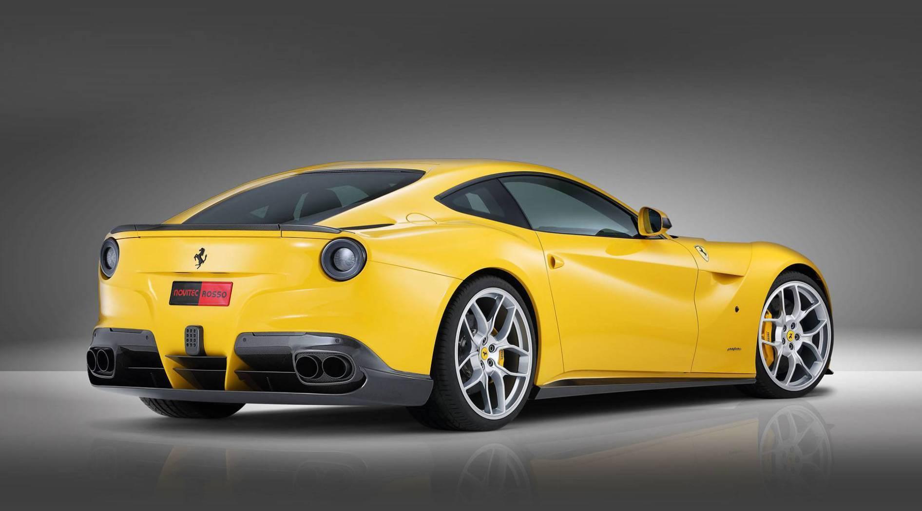 Карбоновый спойлер на багажник Novitec Style для Ferrari F12 Вerlinetta