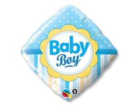 Фольгированный ромб Новорожденный мальчик