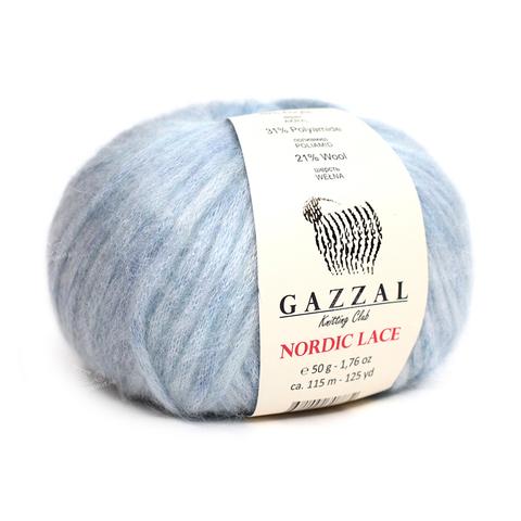 GAZZAL Nordic Lace (48% акрил, 31% полиамид, 21% шерсть, 50гр/115м)