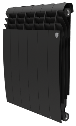 RoyalThermo BiLiner 500 Noir Sable, 8 секций - радиатор биметаллический