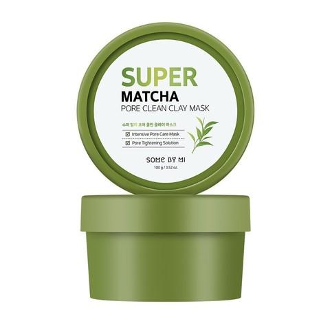 Some By Mi Super Matcha Pore Clean Clay Mask очищающая глиняная маска с чаем матча