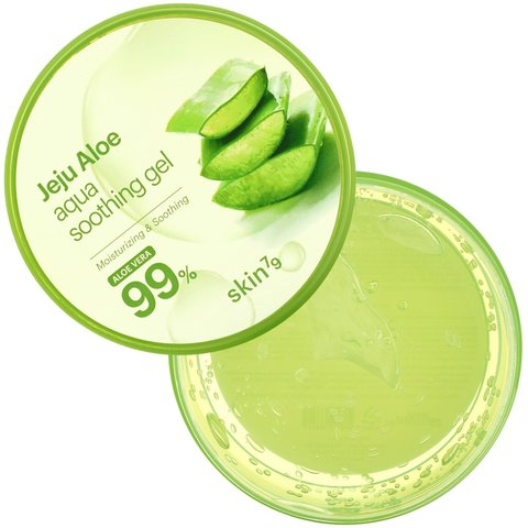 Gel \ Гель \ Skin79, Jeju Aloe, Aqua Soothing Gel, Aloe Vera, 10.58 oz (300 g)