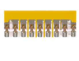 QI 10 YE винтовая перемычка жёлтого цвета арт 2753.2