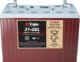 Тяговый аккумулятор Trojan 31-GEL ( 12V 102Ah / 12В 102Ач ) - фотография