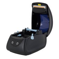 Термопринтер этикеток Mertech MPRINT LP80 EVA RS232-USB Black, 203 dpi, термопечать, ширина 80 мм, 1D/2D, Честный Знак, ЕГАИС, QR-код, Bartender
