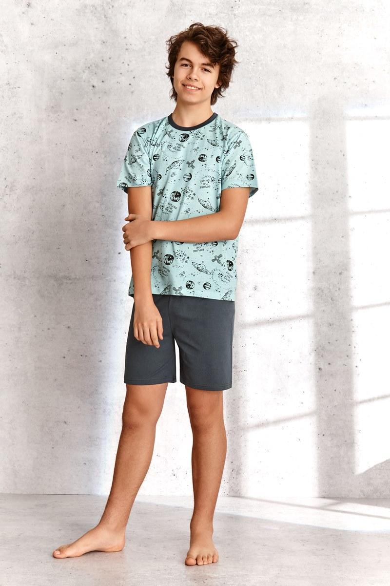 Пижама для мальчиков с шортами TARO 344 SS21 MAX