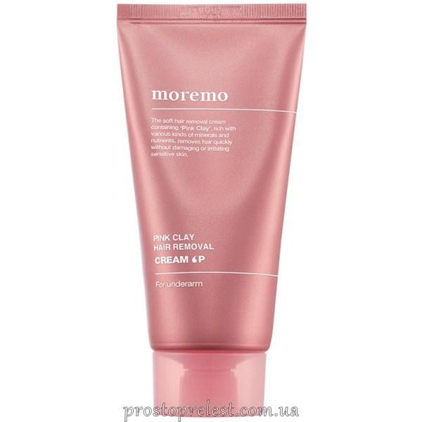 Moremo Pink Clay Hair Removal Cream P - Крем для депіляції з рожевою глиною