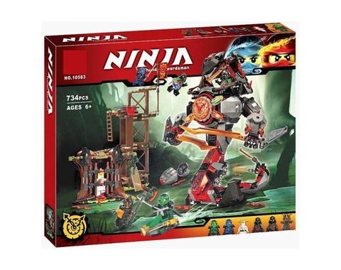 Конструктор Ninja 10583 Железные удары судьбы