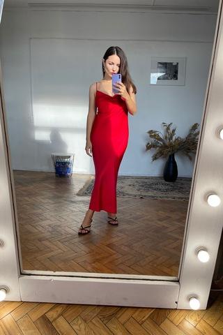 Платье-комбинация в цвете «Суицид бывшего»
