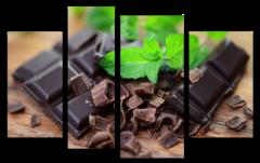 "Модульная картина ""Dark chocolate"""