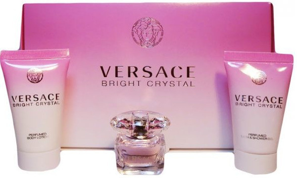Versace Bright Crystal Minisada Gift Set