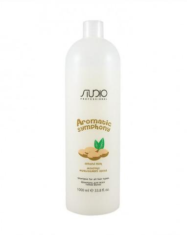 Шампунь для всех типов волос «Молочко миндального ореха», 1000 мл