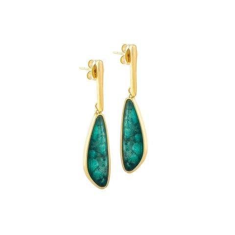 Серьги emerald A4060.17 G/G