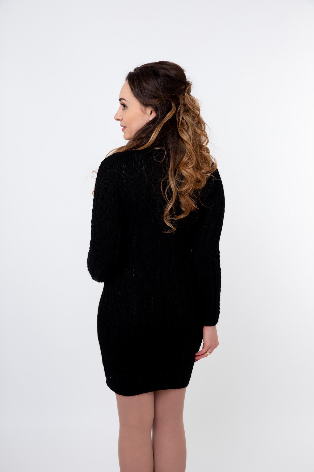 Платье для беременных 09916 черный