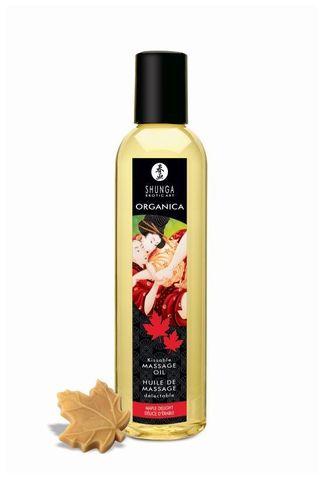 Массажное масло с ароматом кленового сиропа Organica Maple Delight - 250 мл.